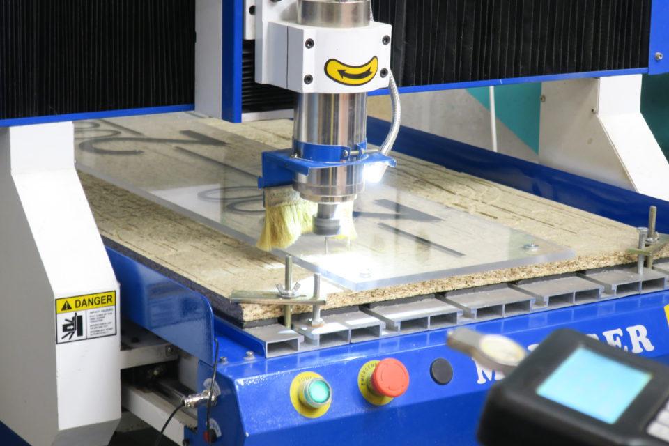 Digitale freesmachine (CNC)