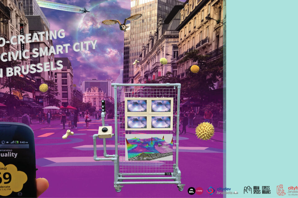 Co-creating a civic Smart City in Brussels